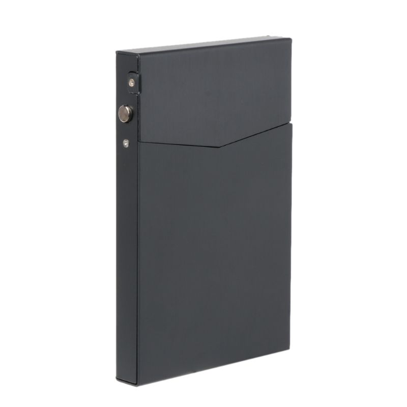 Pocket Business Card Case Name Credit ID Card Holder Storage Case Metal Box Holder Aluminum Alloy New