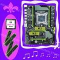 Rabatt motherboard HUANAN ZHI X79 motherboard mit M.2 slot CPU Xeon E5 2680 V2 2 8 GHz SR1A6 RAM 64G (4*16G) DDR3 1600MHz RECC-in Motherboards aus Computer und Büro bei