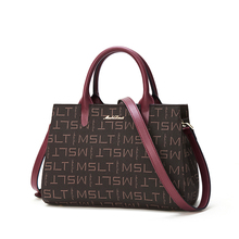 Lady's Crossbody Bags PVC Handbag Fall Winter Bag Large Capacity Office Women Tote Commuter Style Shoulder Bag