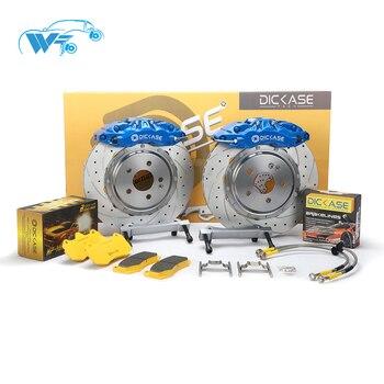 Designer DICASE A61 caliper Big 6 pot brake caliper 18-21 inches cars racing team using for peugeot 206