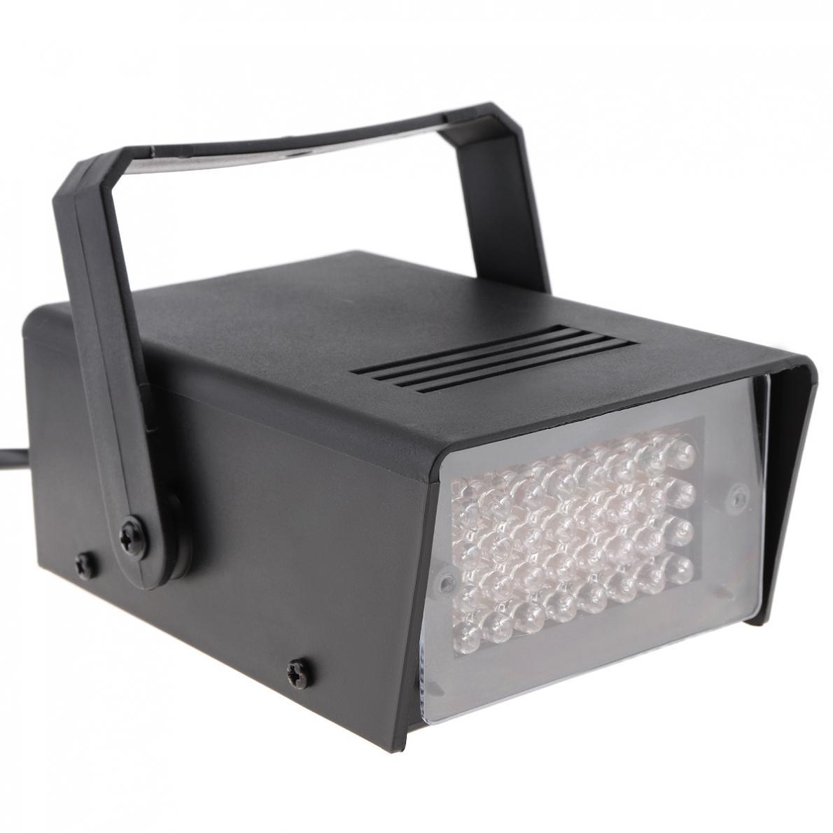 32 leds mini luz estroboscopica controle de 04