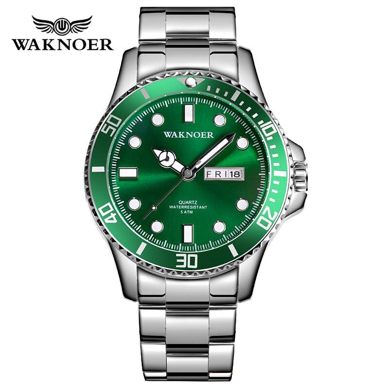 Men's Watch Fashion Business Mens Watches Top Brand Luxury Waterproof Full Steel Quartz Watch Men Clock Relogio Masculino