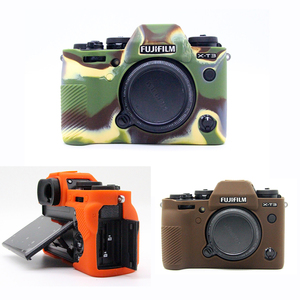 Image 2 - سيليكون المطاط حالة حقيبة كاميرا الجسم غطاء ل فوجي فوجي فيلم XT3 XT 3 XT10 XT20 X T30 X A3 X A10 X T20 X T100 حامي قذيفة