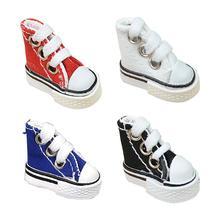 Mini Finger Shoe High Quality Canvas Cute Skate Board Shoe Fingerboard Shoe For Finger Breakdance Fingerboard