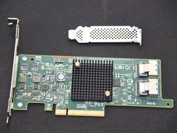цена на High Quality LSI SAS 9217-8i 9207-8i  9205-8I HBA SFF8087 Mini-SAS HD 6Gb PCI-E 3.0 X8 SAS Controller RAID Card IT mode