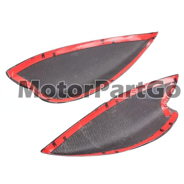 Real Crabon Fiber Head light Eyelid Eyebrow Cover Trim 1pair for  Subaru Impreza 7th 2000-2003 T216 5