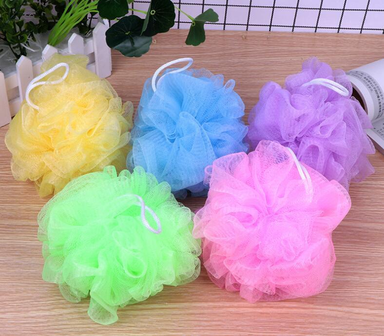 120pcs/lot 20g Multi Lanyard Bath Balls Bath Bath Bubble Net Soft Brush Flowers Tools & Accessories Bath & Body HA1761