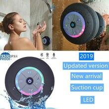 2020 Cool Shower Speaker Wireless Portable Bluetooth Speaker Waterproof Bluetooth Shower Speaker Hands-Free Car Portable Speaker