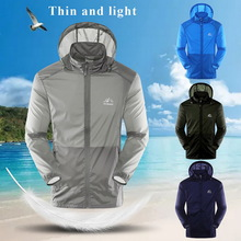 New Fashion Sun Protective Thin And Light Coats Hooded Cycling Jacket Hiking Windbreaker Anti UV Men Women Hooded Zipper Coat|Trainning & Exercise Jackets|   - AliExpress