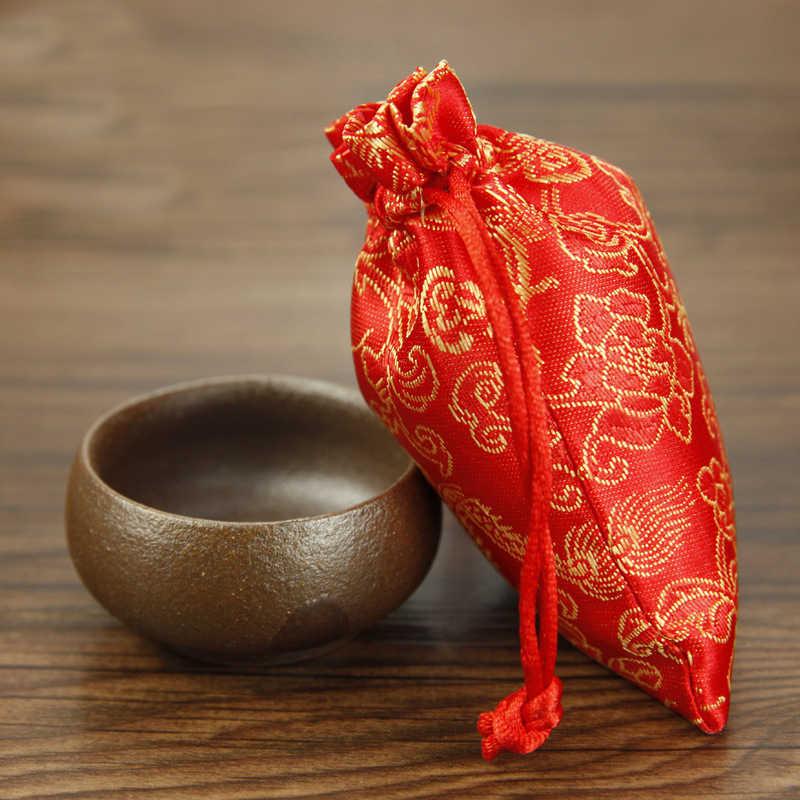 2 pçs tarô cartões sacos dragões dedicado dados sacos caixa de dados embalagem de jóias sacos de cordão jogos de tabuleiro para adultos