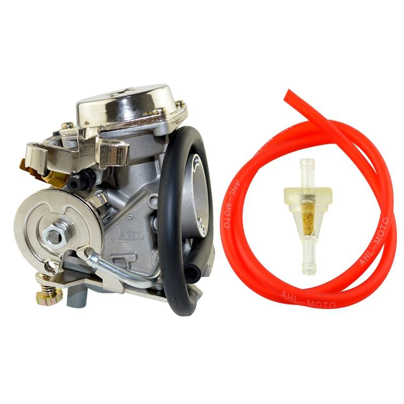 Carburateur moto & filtre à carburant & Tube d'huile pour YAMAHA XV250 Vstar 250 Virago 250 Route66 1988 2014 - 1