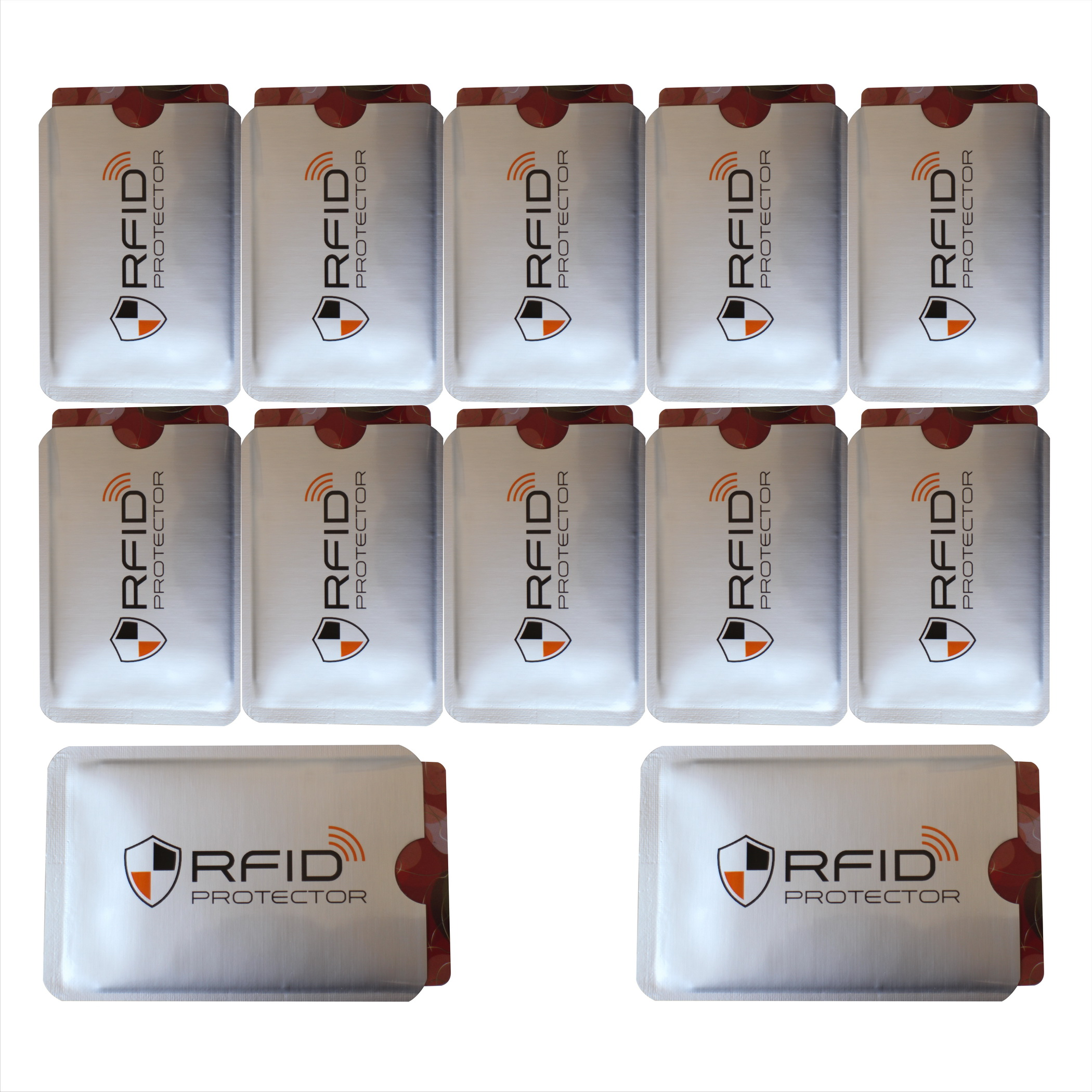 Livraison gratuite 1000 pièces Anti vol RFID bloquant la carte protecteur manchon pour empêcher la numérisation non autorisée de la carte, OEM bienvenue-in Porte-cartes d'identité from Baggages et sacs    3