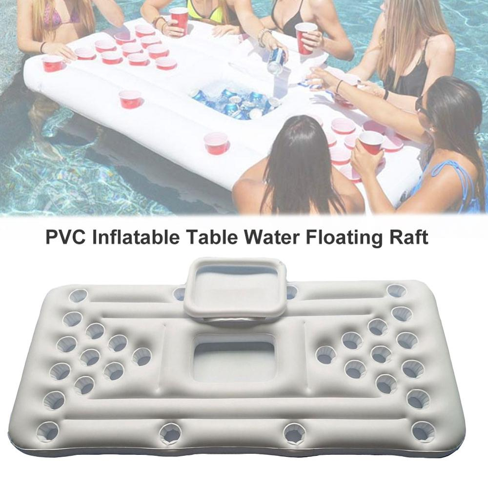 1pc Inflatable Swimming Pool Float Cup Drink Beer Holder Table Swimming Party JE