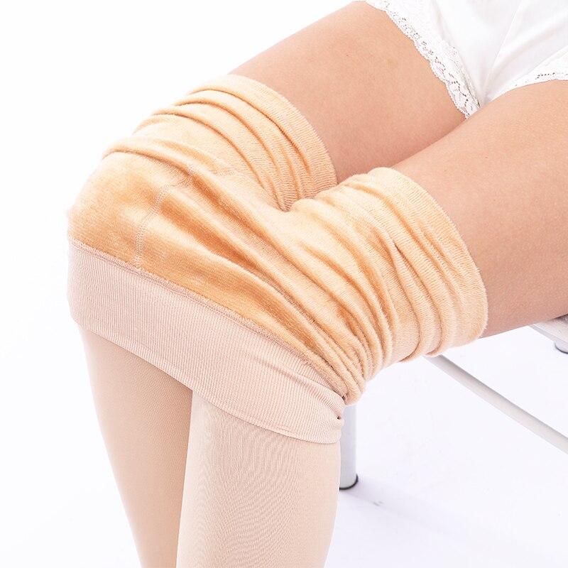 Women's Plus Velvet Warm Leggings 2019 New Large Size High Waist Purh Up Legging Solid Jeggings Feamle