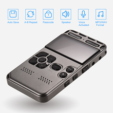 Mp3-Player Sound Professional 8g-Capacity Voice-Recorder Digital High-Definition