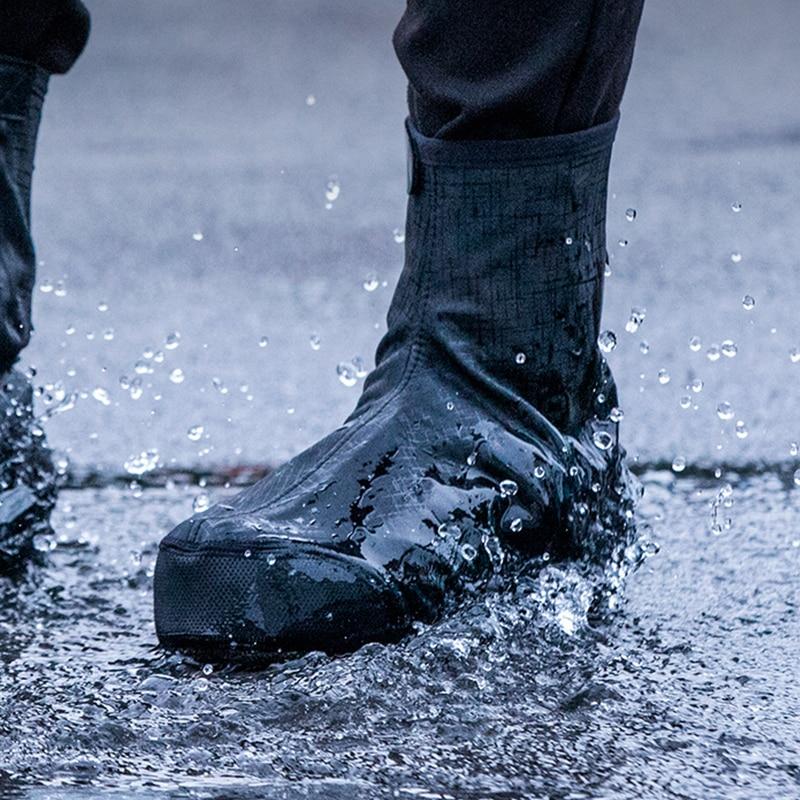 Чехол для обуви для горного велосипеда на молнии, водонепроницаемый чехол для обуви, защитный чехол для дорожного велосипеда, Нескользящие ...