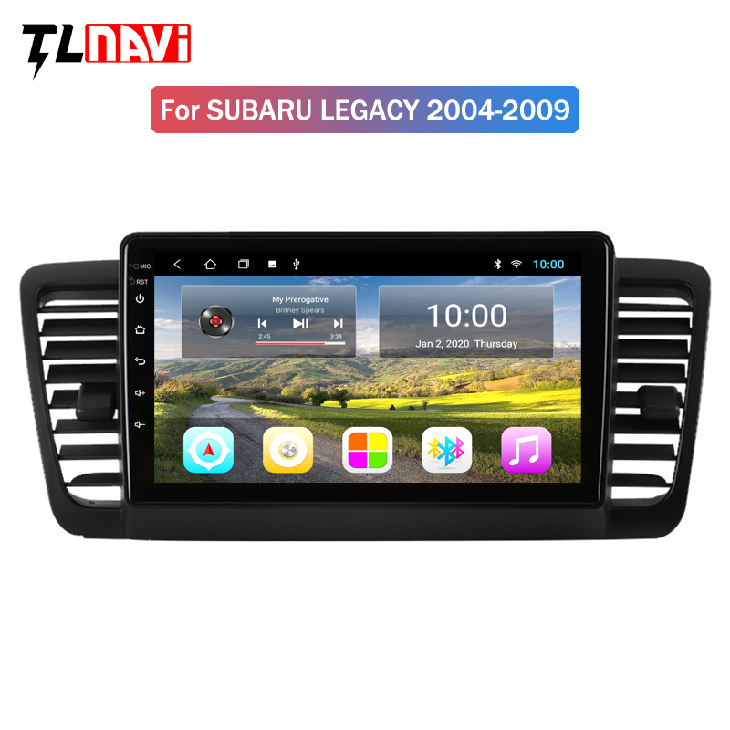 Navigator Car Multimedia Player Intelligent HD Capacitive Screen Audio Video Hands Free DVD For Subaru Legacy Outback