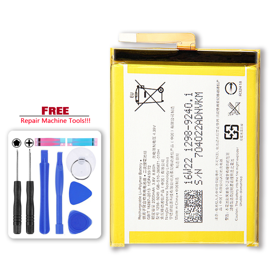 Original Replacement Battery For For SONY Xperia E5 Xperia XA F3113 F3112 F3116 F3115 F3311 F3313 LIS1618ERPC 2300mAh