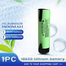 2020 nowy oryginalny Panasonic NCR18650B NCR 18650B 3.7v 3400mah 18650 litowo akumulator spawanie nikiel baterie
