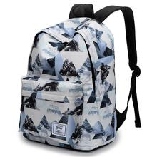 Travel Backpack Bags for Women Girls College Bookbags 14 inch Laptop Mochila Soft Flower Printed Daily Bagpack Large Capacity
