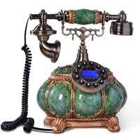 Resina telefonos retro vintage antigo telefones fixos telefone fixo para escritório em casa telefone fijo telefonos fijos de casa
