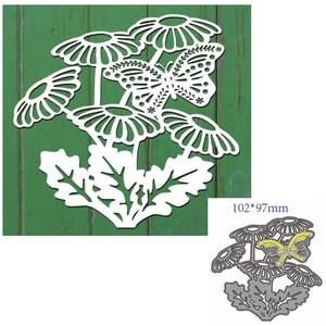 metal cutting dies cut die mold Flowers and butterflies decoration Scrapbook paper craft knife mould blade punch stencils dies