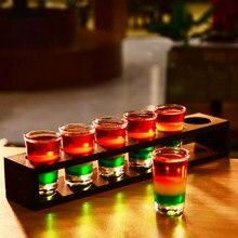 Shot Glass,Whisky Shot Glasses,Mini Glass Cups For liqueur, Vodka Glass,Tequila Cups Holder Rack Barware