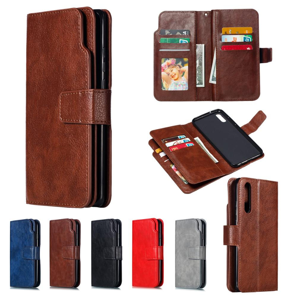 Для Huawei P40 P20 P30 P8 P9 Lite P20 P30 P40 Pro ретро кожаный чехол с отделением для карт Магнитный чехол держатель для телефона сумка для телефона|Бамперы|   | АлиЭкспресс