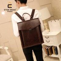 Backpack academic style retro postman bag backpack shaped backpack travel bag