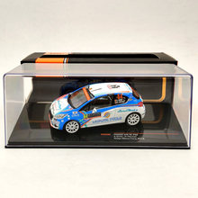 IXO 1/43 For P~GEOT 208 R2 #64 Rallye Monte Carlo 2018 RAM560 Diecast Model Limited Edition Auto Toys Car Collection
