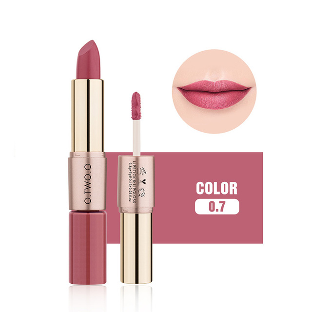 O.TWO.O 12 Colors Velvet Matte Lipstick Sexy Makeup Long Lasting Pigment  Moisture Cosmetic Waterproof smooth Lips Stick TSLM2 2