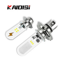 NEW Motorcycle Headlight Led H4 H6 Bulbs Beam Moto Led Motorbike Waterproof Headlight Lamp 6000k White 12V 50000 Hours Headlamp