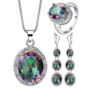 4Pcs/Set Multicolor Crystal Fa