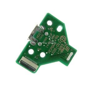 Image 1 - 50pcs JDS 055 050 001 011 030 040 USB พอร์ตชาร์จ Socket Power Charger Board 12PIN สำหรับ Playstation 4 PS4 Pro Controller