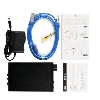 Dilvpoetry X6 Pro DAC HiFi Headphone Amplifier Decoder 24Bit/192kHz Coaxial/Optical/USB Stereo Audio Digital Decoder