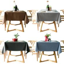 Plastic Tablecloth Waterproof Rectangular Kitchen on 1pcs Home Pvc for And No-Wash New