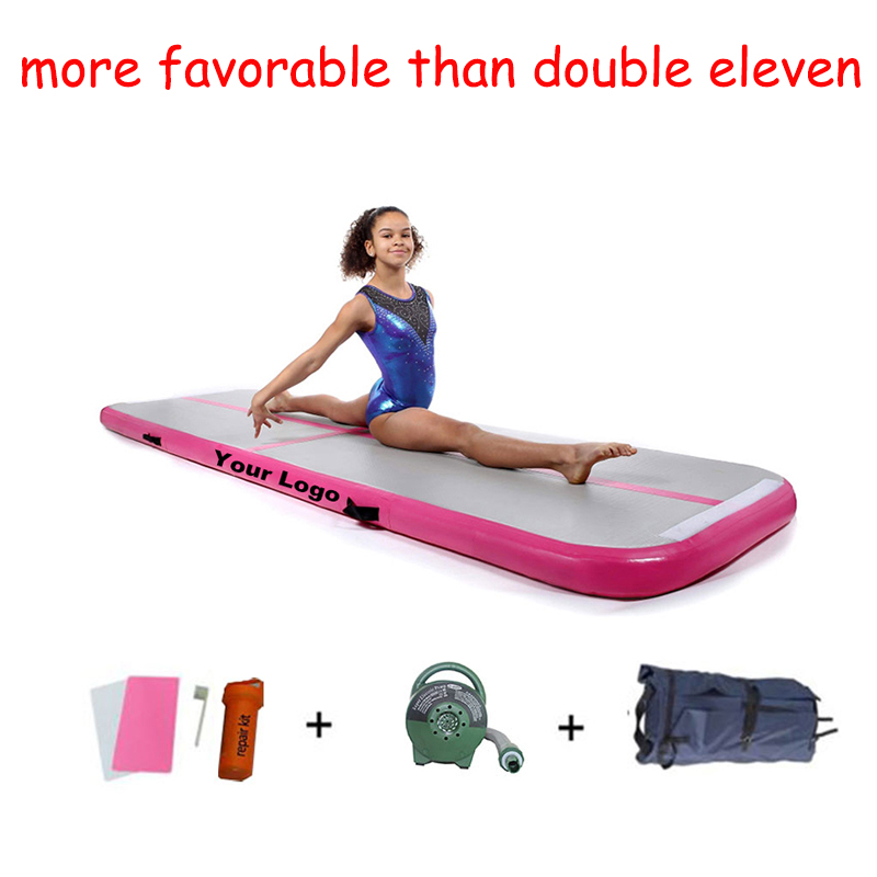 3m Hot Sale Gym Gymnastics Inflatable Cheap Air Track Yoga Mat Matte For With Free Air Pump Home Indoor Training Practice Gymnastics Aliexpress