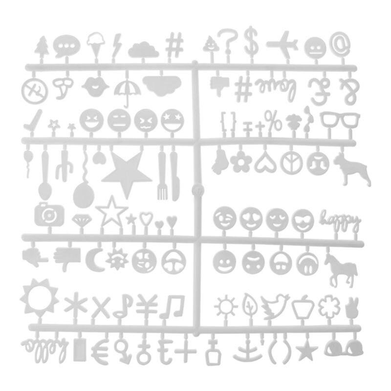Letras números intercambiables fieltro alfabeto símbolos color retro blanco Uwin Baguette letras Cz personalizado Colgante para Nombre collares y colgante Bling Cubic Zirconia lleno Iced Out HipHop regalo de joyería