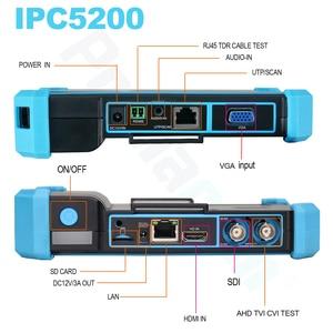 Image 5 - 最高テスター 5 インチネットワーク hd 同軸 cctv テスターモニター IPC5000 プラスの hikvision 大化テストツールネットワークケーブル tdr テスト wifi poe