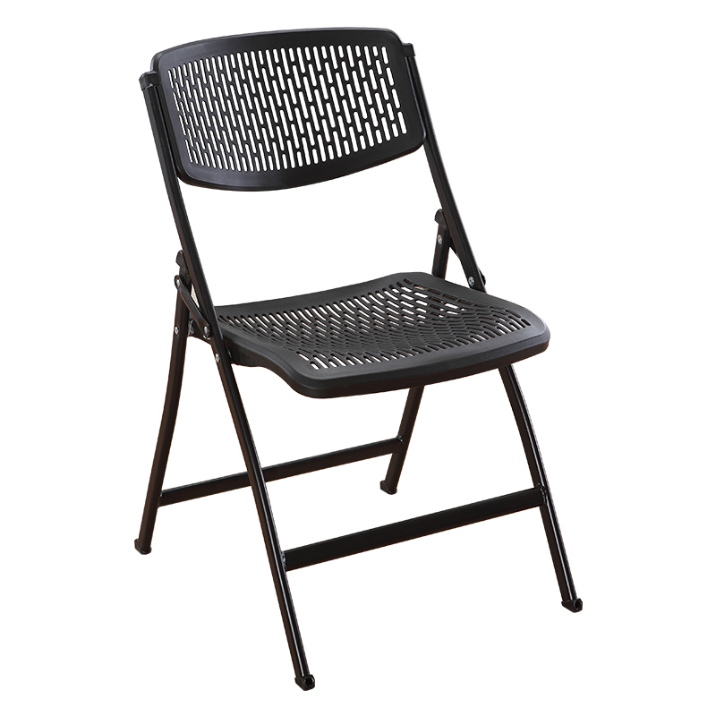 Folding Chair Stool Back Chair Office Computer Chair Portable Chair Training Chair Minimalist Meeting Reception Chair
