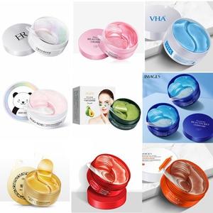 Hyaluronic Acid Eyes Care Collagen Gel Wrinkle Crystal Eyes Masks cream Seaweed golden Eye Patches Remove Dark Circles Anti Age