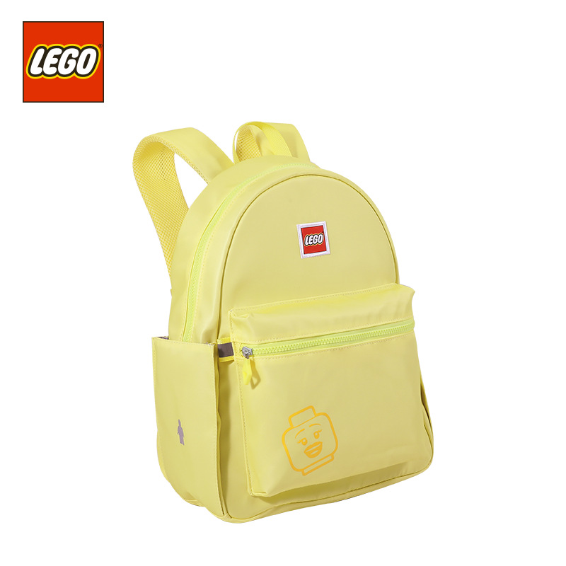 Lego LEGO Backpack 2019 New Style Macaron Fashion Casual GIRL'S CHILDREN'S School Bags 20130