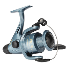 HotFront and Rear Drag System Freshwater Spinning Reel 5.1:1 Carp Fishing Reel Post-Loading Spinning Wheel 1 Ball Bearing Reels цены