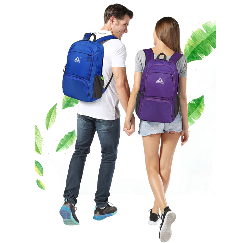 PLAYKING foldable waterproof backpack outdoor travel folding lightweight bag bag sport Hiking gym mochila camping trekking | Happy Baby Mama