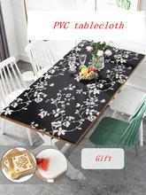 Изготовленный на заказ Настольный коврик из ПВХ мягкая стеклянная