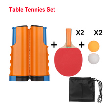 Net Extendable Table-Tennis-Paddle Training-Accessories Ping-Pong Exercise for Beginner