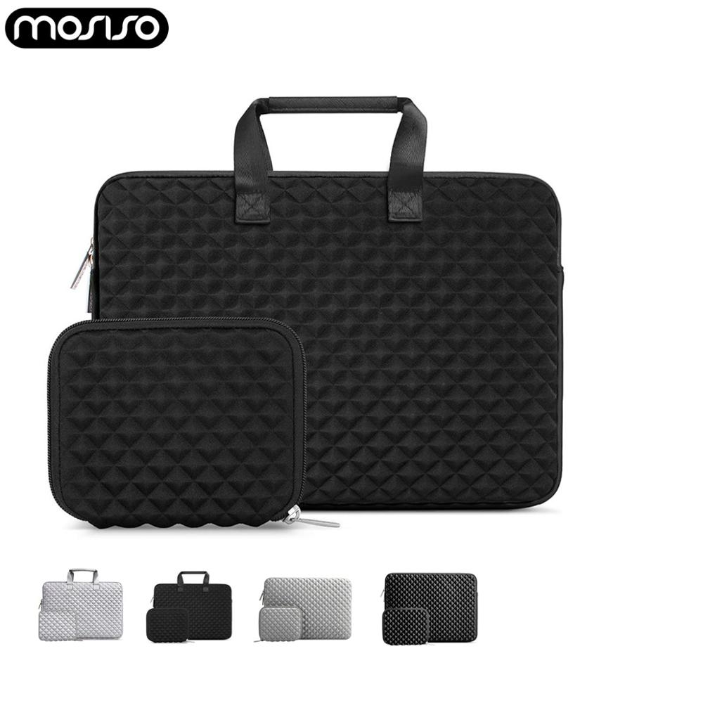 MOSISO 2019 Fashion Laptop Sleeve Briefcase Bag For Macbook Air 13 13.3 14 15 Inch Retina Pro Touch Bar Notebook Sleeve Bags