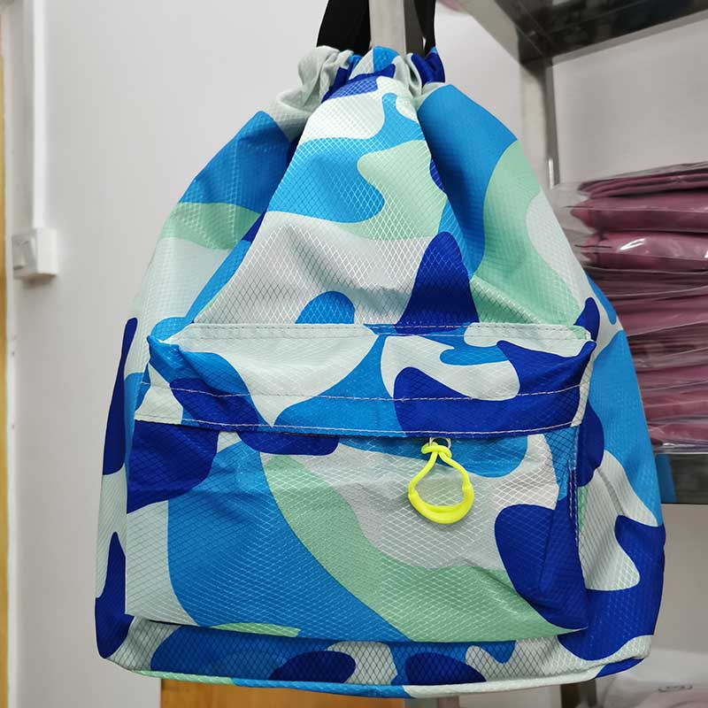 2019 Outdoor Men And Women Dry And Wet Separation Bag Swimming Exercise Fitness Backpack Waterproof Beach Harness Pocket