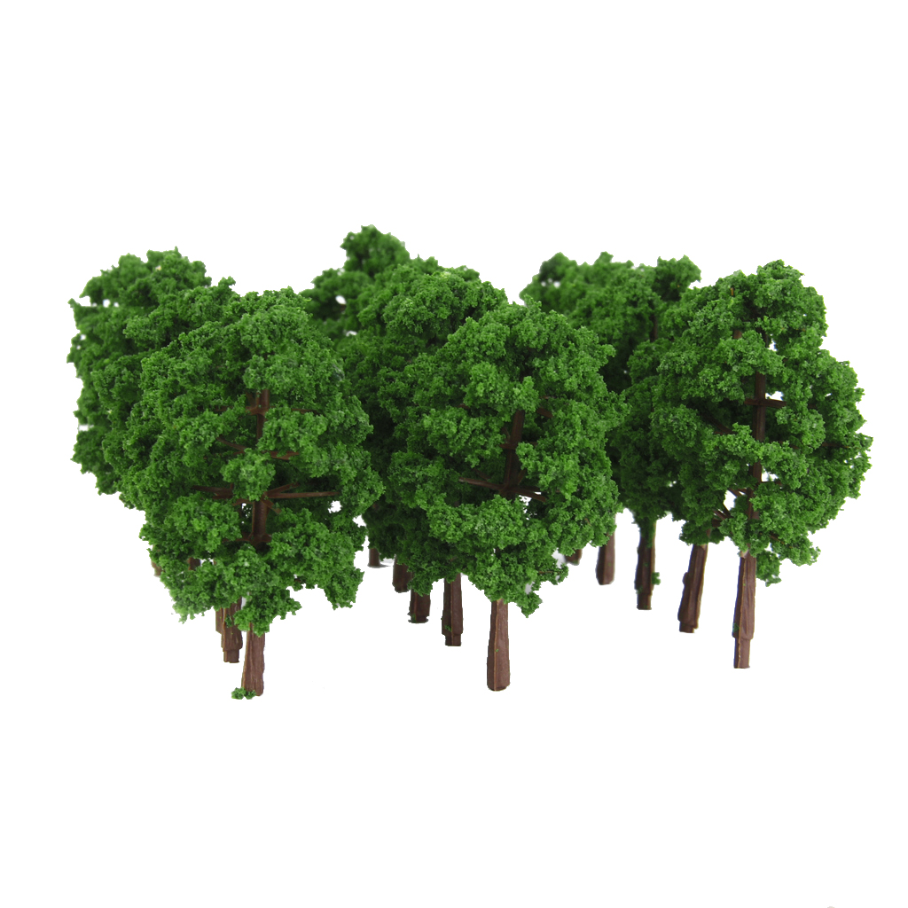 20 PCS N Scale 1:150 Model Tree For Railroad Build Park Street Layout