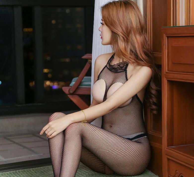 ผู้หญิงชุดชั้นในสตรีเซ็กซี่ Bodysuit Body STOCKING เปิด Crotch Teddies เพศเร้าอารมณ์เครื่องแต่งกาย G String Full Body กางเกงชุดชั้นใน